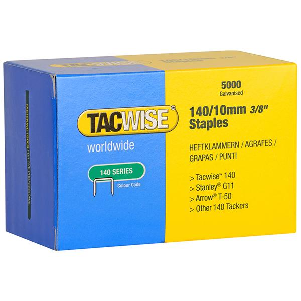 10MM GALV  STAPLES (BOX 5000)