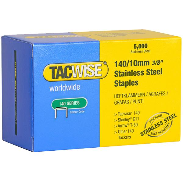 10MM STAINLESS STEEL STAPLES (BOX 5000)