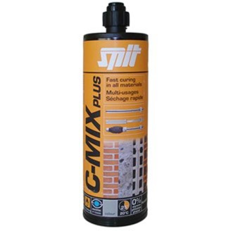 C-MIX PLUS CARTRIDGE GREY 380ML + 1 NOZZLE