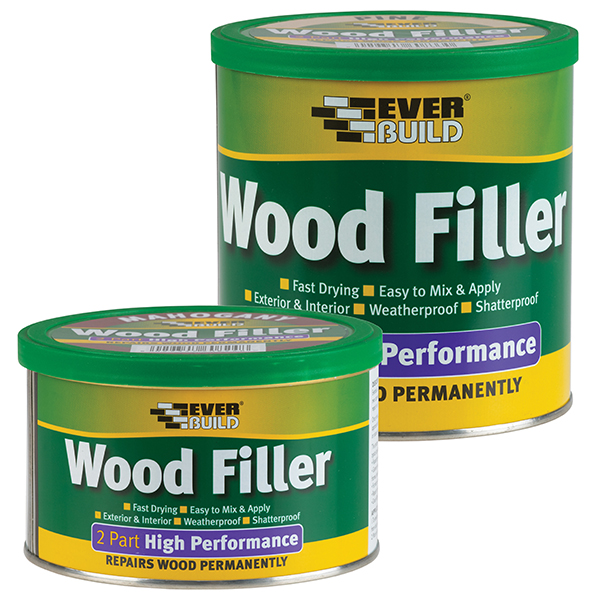 2 PART HIGH PERF WOOD FILLER MAHOGANY 500G