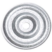 75 MM ROUND RIBBED STRESS PLATE (BOX 100)