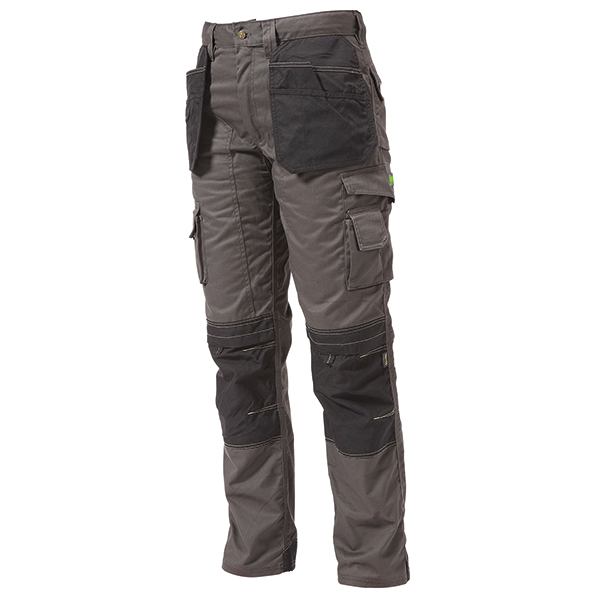 GREY/BLACK HOLSTER TROUSERS