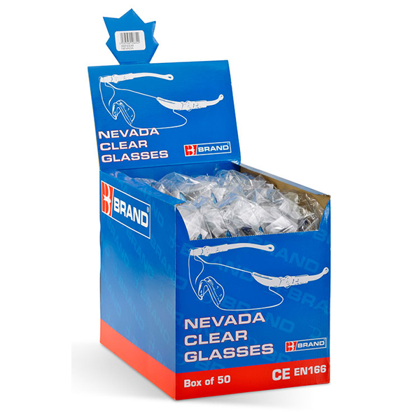 NEVADA SAFETY SPECTACLES (BOX 50)