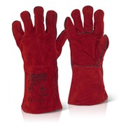 CAT II WELDERS GAUNTLET RED STANDARD