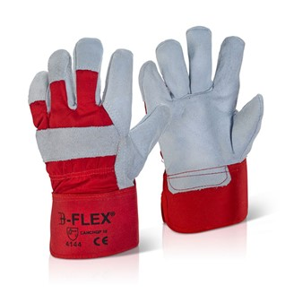 CANADIAN RED HIGH QUALITY RIGGER GLOVES