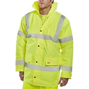 CONSTRUCTOR TRAFFIC JACKET - YELLOW