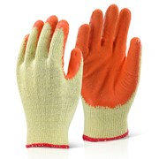 ECONOMY GRIP GLOVES ORANGE