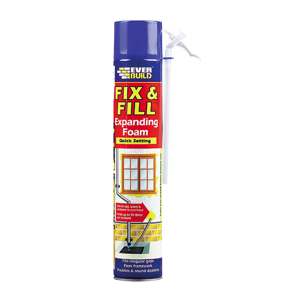 FILL & FIX EXPANDING FOAM 750ML