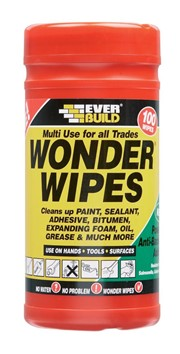 EVERBUILD MULTI-USE WONDER WIPES 100PK