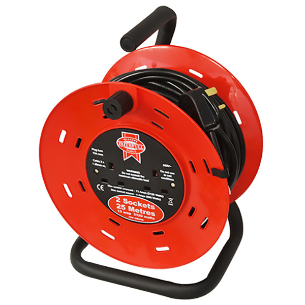 240V 25MTR 13AMP DEFENDER CABLE REEL