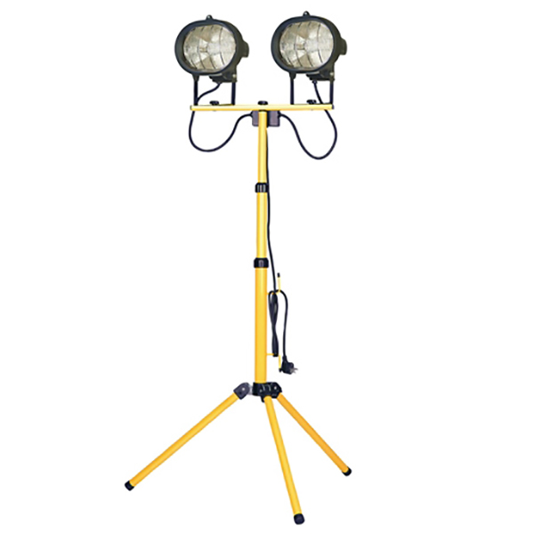 110V TRIPOD DOUBLE SITE LIGHT