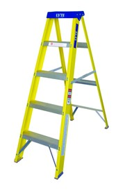 5 TRED FIBREGLASS STEPLADDER