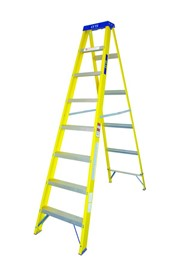 8 TRED FIBREGLASS STEPLADDER