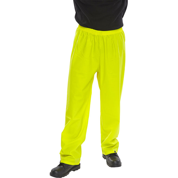 SUPER B-DRI TROUSERS - YELLOW