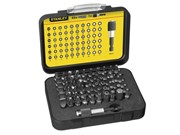 STANLEY 61PCE SCREWDRIVER BIT SET