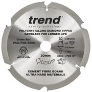 PCD 250MM x 6T x 1.6MM x 30MM SAW BLADES