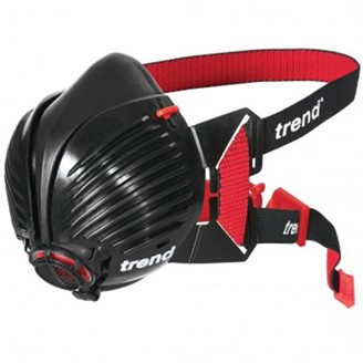 Trend Air Stealth P3 R Half Mask Harlequin Fixing