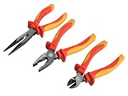 3 PIECE VDE PLIER SET