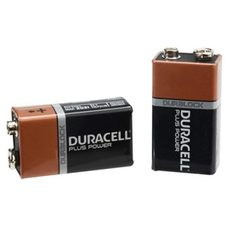 DURACELL 9V BATTERY TWINPACK
