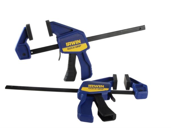 150MM ONE HANDED CLAMP TWINPACK