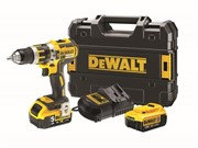 18V XR BRUSHLESS COMBI DRILL COMES WITH 2 BATTS