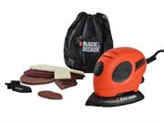 BLACK & DECKER 55W MOUSE SANDER COMES WITH SANDING SHEETS