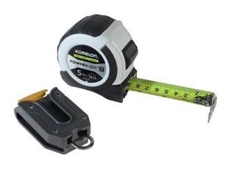 8MT WHITE KOMELON POWERBLADE TAPE COMES WITH BELT CLIP