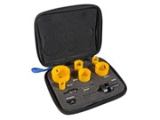 9 PIECE PLUMBERS HOLESAW KIT