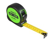HI-VIS TAPE MEASURE 8M/26FT