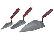3 PIECE SOFT GRIP TROWEL SET