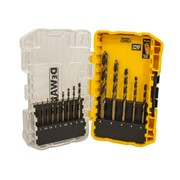 14PC BLACK & GOLD HSS DRILL BIT SET