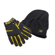 FLEXI-GRIP COMBO GLOVES & BEANIE HAT