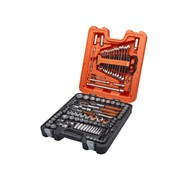 138 PIECE MIXED DRIVE SOCKET & SPANNER SET